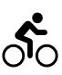 pictogram fietsen