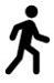 pictogram lopen